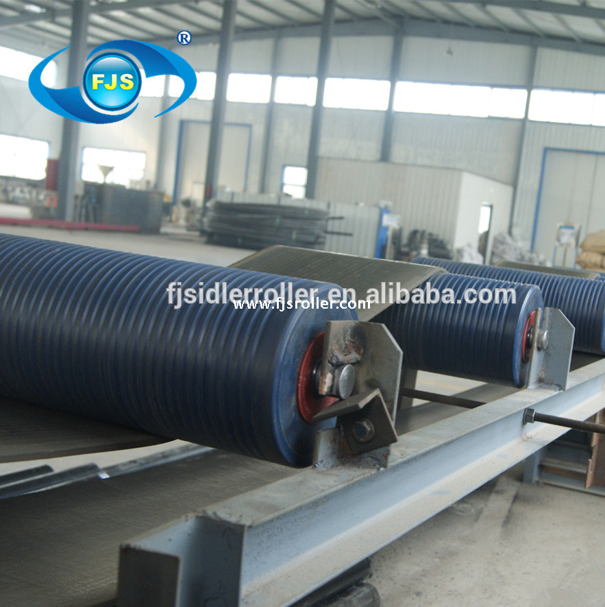 127mm diameter plastic hdpe conveyor roller uhmwpe belt