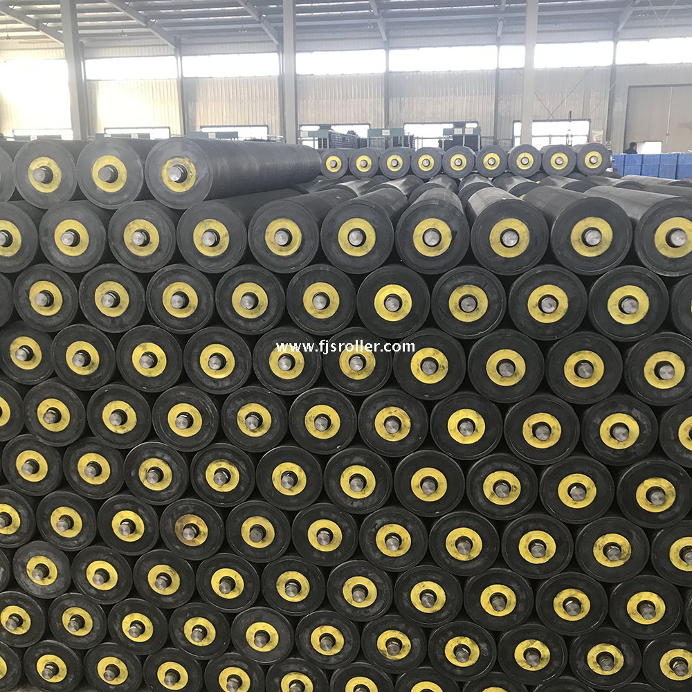 high quality conveyor belt hdpe idler uhmwpe roller used in Coal Mining Industry